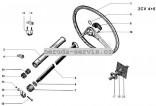 Tyč řízení - volantová tyč - Použitá
