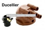 Víčko rozdělovače + palec Ducellier...